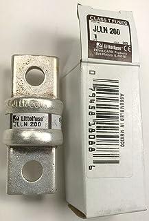 Littelfuse JLLN-200 (JLLN200), 200Amp (200A) 300V Fast Blow Class T Cartridge Blade Fuse