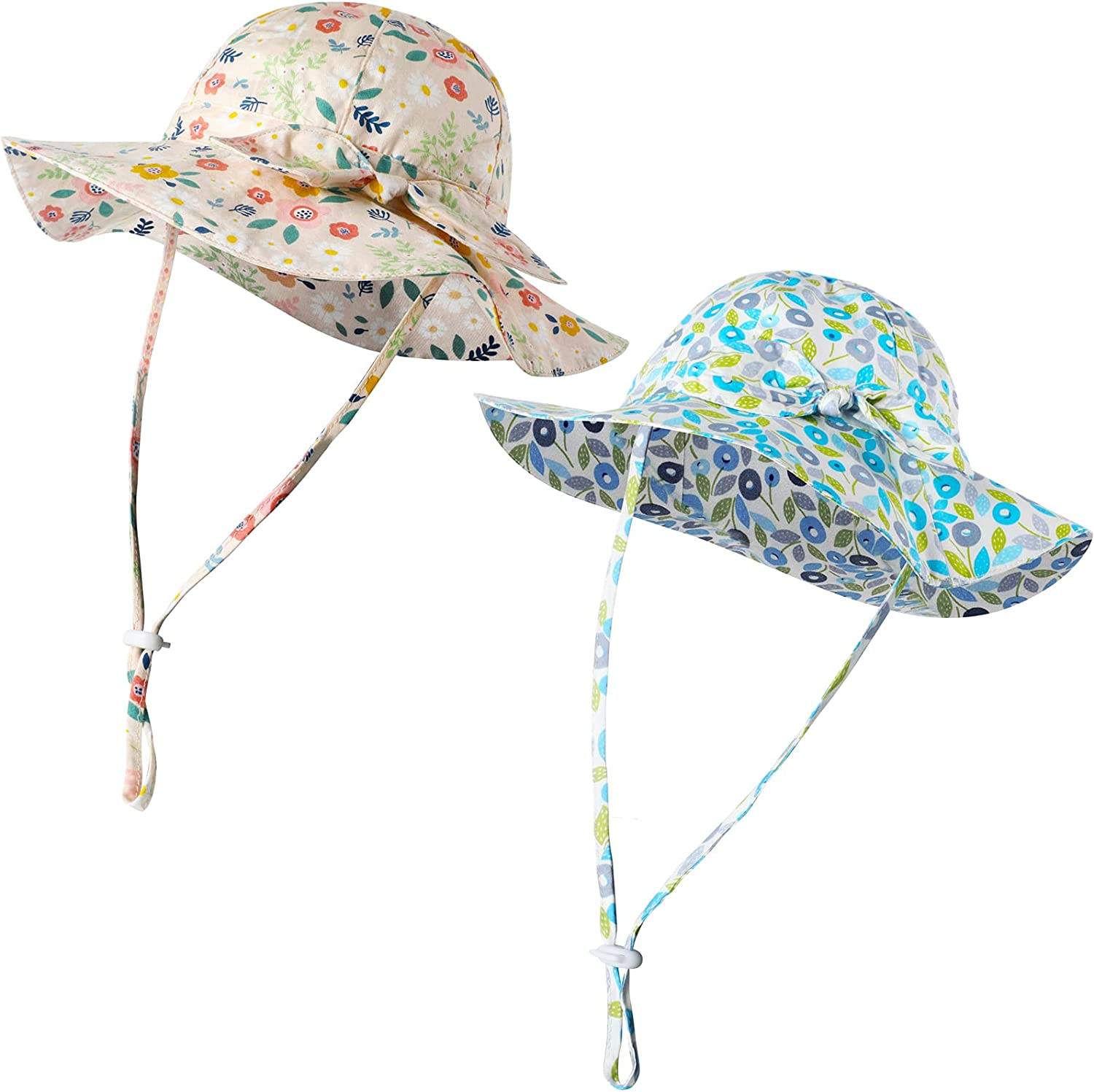 2 Pieces Summer Baby Hats Fort Worth Mall New Shipping Free Toddler Adjustable Girl Sun