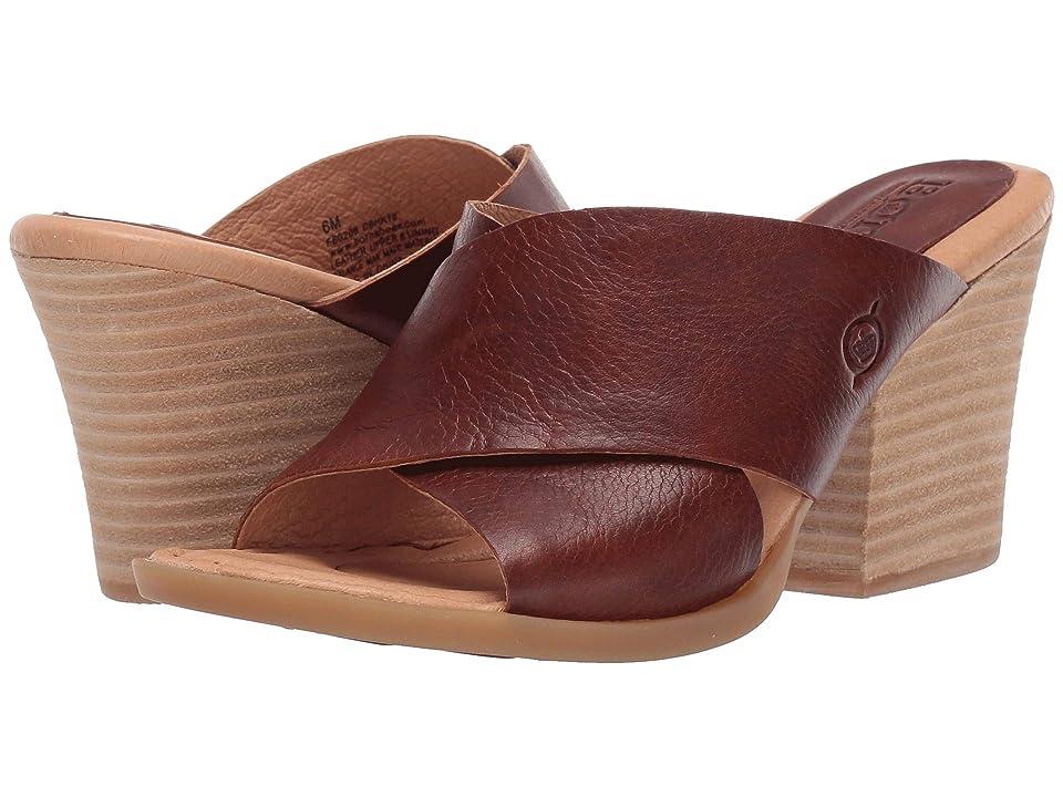 Born Madison (Brown Full Grain Leather) Women