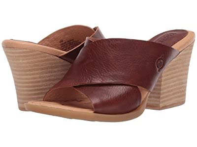 Born Madison (Brown Full Grain Leather) Women