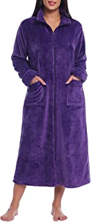 Best long zip fleece robe Reviews