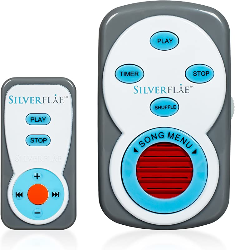 White Noise Machines By Silverflye Portable Baby Sound Machine Sleep For Infants And Toddlers Travel Noise Maker With Spa Sounds For Babies Relaxation Reduced Stress Remote Control And USB Included