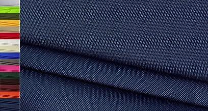 Stoffbook Tejido Nylon Cordura 600D Robusto azul oscuro, C634