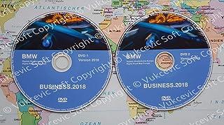 B M W Update DVD Road Map Europe Business 2018 DVD1+DVD2