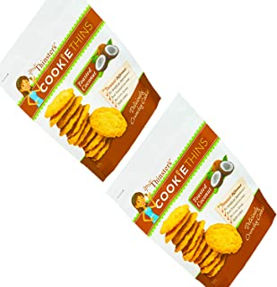 Mrs. Thinster's Coconut Cookie Thins, 19 oz resealable bags, count of 2