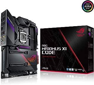 Asus ROG Maximus XI Code LGA1151 (Intel 8th and 9th Gen) ATX DDR4 HDMI M.2 USB 3.1 Gen2 Z390 Gaming Motherboard