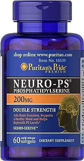 Puritans Pride Neuro-ps (phosphatidylserine), 200 Mg, 60 Count