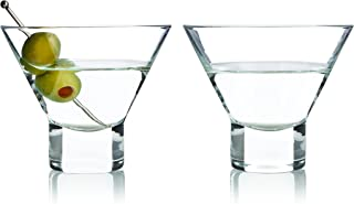 Viski 3718 Raye Stemless (2 pack), Martini Glasses