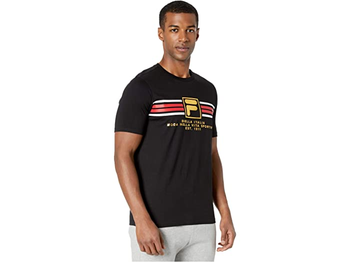 Camiseta Fila Benz Black Shirts & Tops