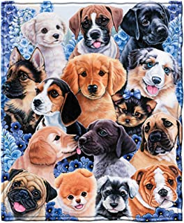 Best blanket with dog picture Reviews