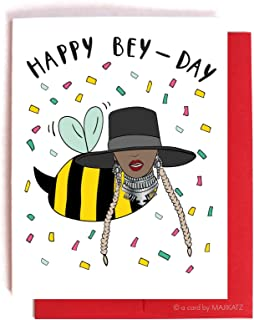 Happy Bey-Day! Funny Queen Bey Beyonce Birthday Bday Card