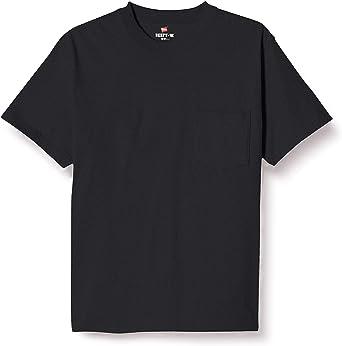 [ヘインズ] ビーフィー ポケット付き Tシャツ ポケT BEEFY-T 1枚組 綿100% 肉厚生地 H5190 メンズ