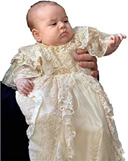 Suitshome Baby Girls Flower Christening Baptism Dress Formal Party Special Occasion Dresses for Toddler (3-6months, Champagne)