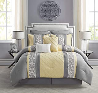 Best pale yellow comforter sets Reviews