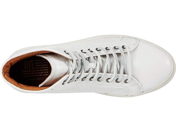 Frye Mens Walker Mid Lace Up Sneaker Shoes