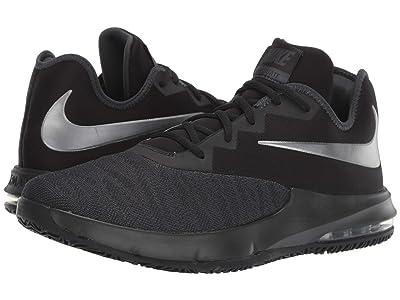 Nike Air Max Infuriate III Low (Black/Metallic Dark Grey/Anthracite) Men