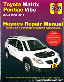 Best 2005 toyota matrix service Reviews