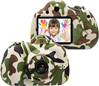 omzer Kids Digital Cameras for 4-9 Year Old Boys,2 Inch LCD Screen Toy Video Camera Birthday for Teen boy, Festival Gift f...