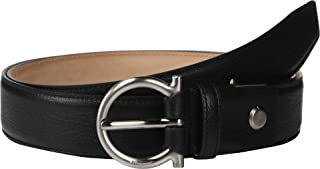 Salvatore Ferragamo Men's Adjustable Belt - 679949 Black 36