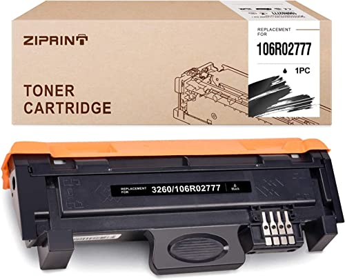 high quality ZIPRINT Compatible Toner Cartridge Replacement for Xerox 3260 X3260 106R02777 for Xerox WorkCentre high quality 3215 3260 3260 DNI 3260 outlet online sale DI 3215 NI 3225 DNI Printer, High Yield 3,000 Pages (Black,1 Pack) outlet online sale