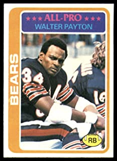1978 Topps #200 Walter Payton UER NM