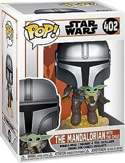 POP Star Wars: The Mandalorian- Mando Flying w/Jet