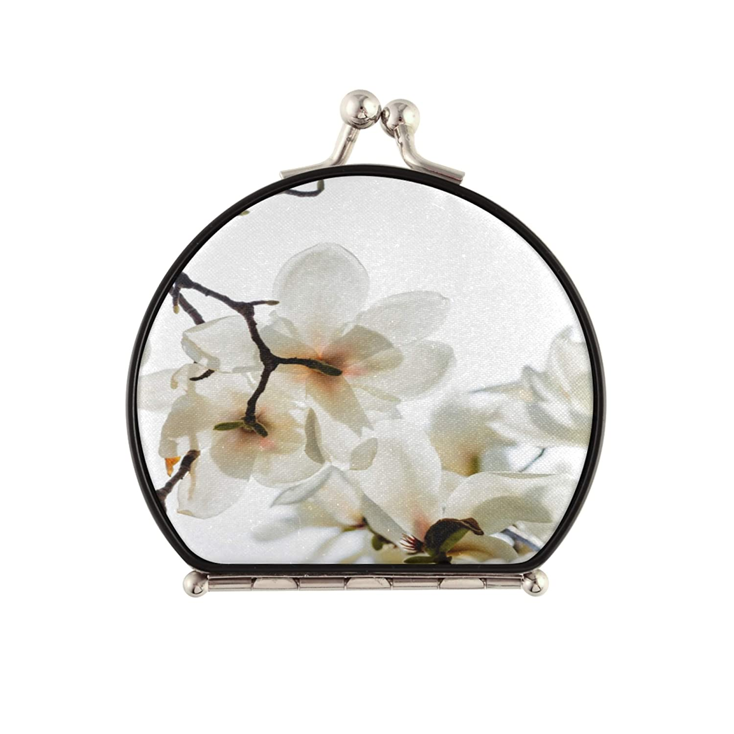 New sales MensTravelMirror Charming Blooming New product! New type SmallCompactMirro Orchids