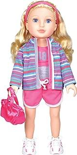 Best 18 inch doll blonde hair blue eyes Reviews