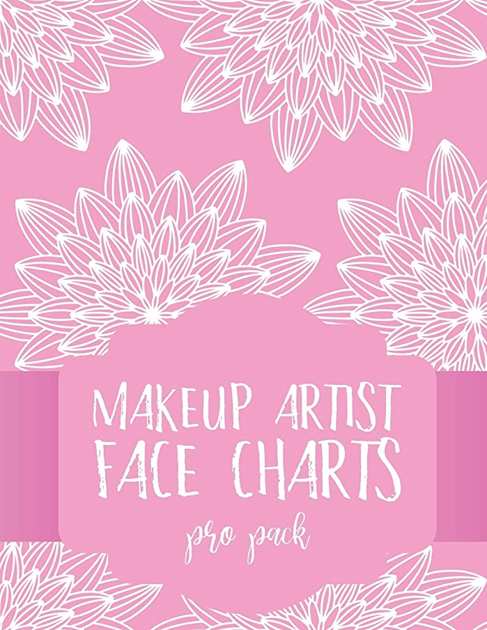 Makeup Artist Face Charts: Pro Pack (Face Charts for Makeup Artists)
