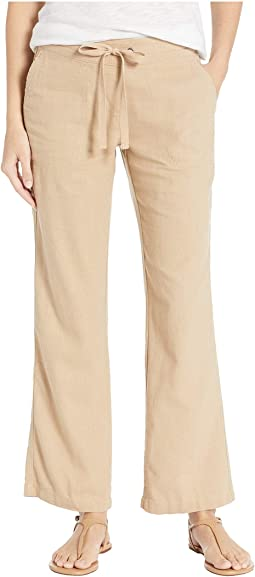 "31"" Linen Drawsting Pants"