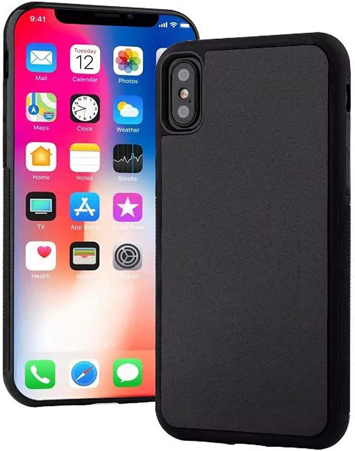 360 Degree Full Protection Pluto AntiGravity for iPhone Xs Max 6 7 8 Plus 11 Pro Max SE Magical Magic Nano Adsorption Shell Soft Silicone Mobile Phone Case