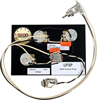 Gibson Les Paul Black Beauty 3 Pickup Wiring Harness Bourns CTS Switchcraft New