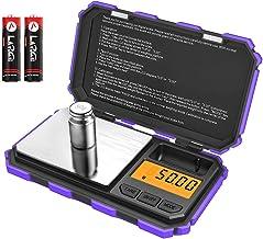 (Upgradaed) Brifit Digital Mini Scale, 200g /0.01g Pocket Scale, 50g Calibration Weight, Electronic Smart Scale, 6 Units, ...