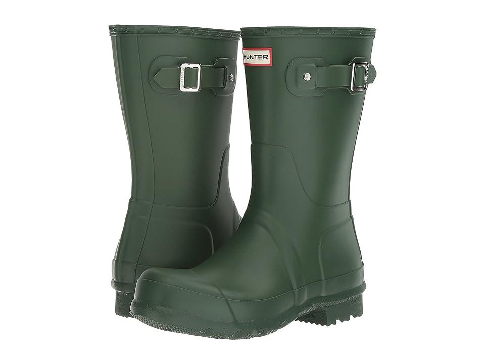 Hunter Original Short Rain Boots (Hunter Green) Men
