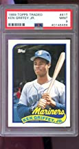 Ken Griffey Jr. Graded PSA 9 MINT (Baseball Card) 1989 Topps Traded - Box Set [Base] #41T