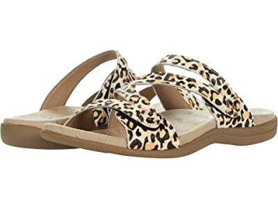 Taos Footwear Double U (Tan Leopard Print) Women