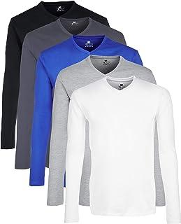 Camisa Manga Larga Hombre, Pack de 5