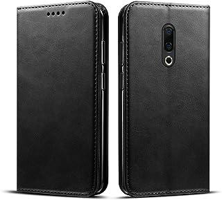 Meizu 16 Plus シェル, MeetJP [ ポータブル 財布 ] [ スリム 合う ] 重い 義務 保護 カバー ケース フリップ カバー 財布 シェル の Meizu 16 Plus