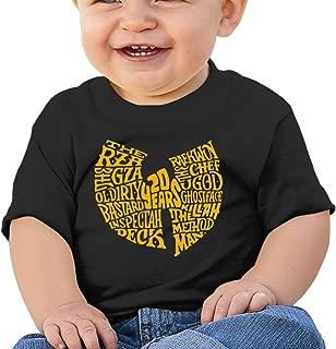 MDSHOP Baby/Toddler Wu-Tang Clan Hip-HOP Band Logo Cotton T-Shirts