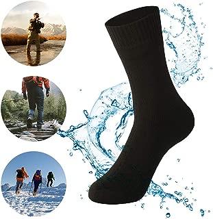 Waterproof Socks Breathable Sweat-Absorbing Socks for Men Women Trekking Hiking