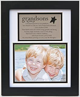 The Grandparent Gift Frame Wall Decor, Grandsons