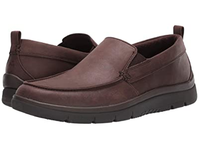 Clarks Tunsil Way (Brown Synthetic) Men
