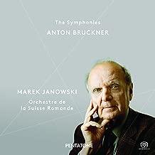 ブルックナー : 交響曲全集 (第1番~第9番) | ミサ曲 第3番 (Anton Bruckner : The Symphonies / Marek Janowski | Orchestre de la Suisse Romande) [10SACD Hybrid] [輸入盤] [日本語帯・解説付]