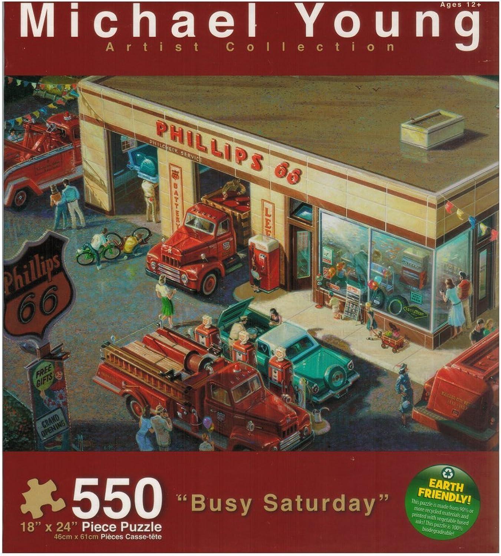 Michael Young Artist Collection Busy Saturday B00MNTSNGO Qualität und Quantität garantiert | Billig