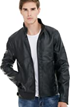 Best leather biker jacket red lining Reviews