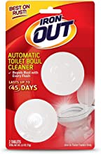 Iron OUT Automatic Toilet Bowl Cleaner, 6 Pack, 24 Tablets