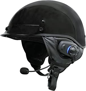 Sena Bluetooth Stereo Headset and Intercom with Built-in FM Tuner for Half Helmets