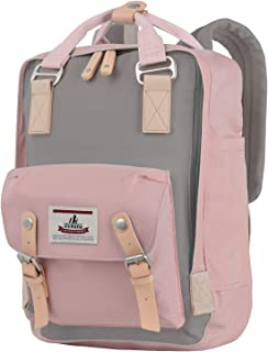Backpack 14 Waterproof Laptop Backpack for College & Student 15 Vintage Travel Backpacks for Women & Men