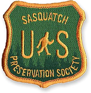 Sasquatch Preservation Society   Embroidered Patch