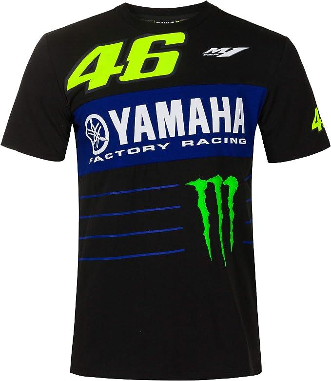 Valentino Rossi 2020 Herren T-Shirts Yamaha Factory Racing Offizieller Merchandise-Artikel